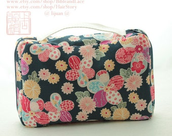 Handle Personal pocket  pencil case cotton  pencil case tool case brush case cosmetic case