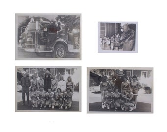 Smokey Bear Photos - Set of 4 - Vintage 1960's