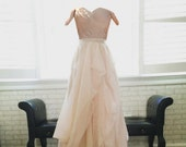 Reserved for Maia-Custom wedding dress