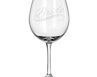 Oversized Red Wine Glass-18 oz.-6680 Bride