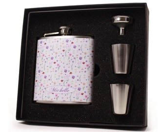 Personalized Flask for Women // Petite Garden Flask