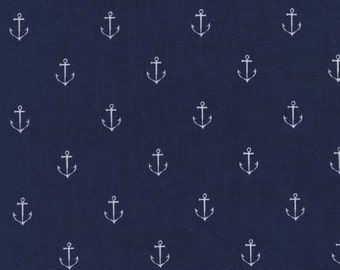 Anchors Away in Navy DC5627 - Michael Miller Fabrics - By the Yard