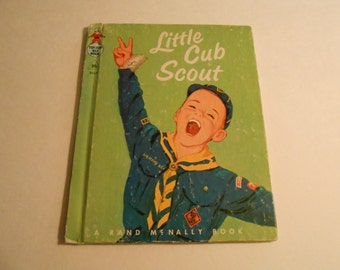 vintage TIPTOP ELF book Little Cub Scout