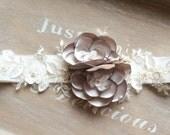 Floral bridal sash, floral wedding sash, fabric flower sash, bridesmaids sash - 'Phoebe Sash'