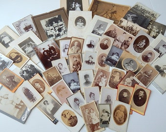 50 Vintage Photographs  French c.1890-1920s