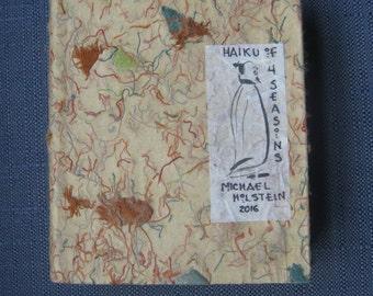 3-D Boxed Haiku of 4 Seasons