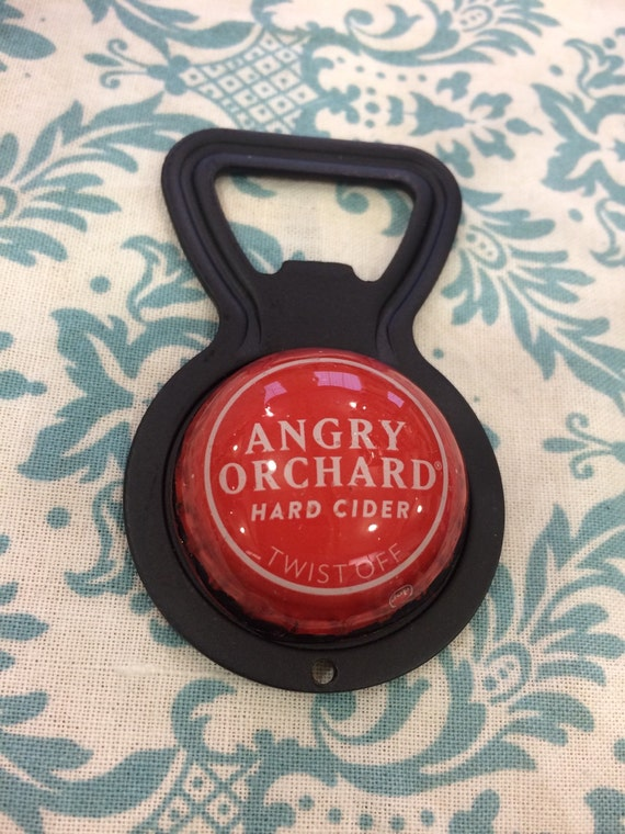 angry orchard upcycled bottle opener cider apples craft. Black Bedroom Furniture Sets. Home Design Ideas