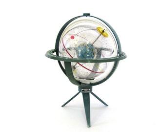 Vintage World Globe Space-Age Sputnik Astro Torica Celestial Planetarium