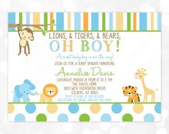 Wild baby shower Etsy