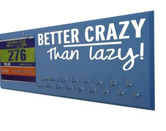 Gifts for runners - Better crazy medal hangers - display for running medals