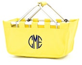 Large Market Tote in Yellow