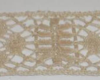 Antique Vintage Lace Yardage - 4-1/2 Yards