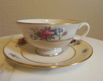Lenox Rose China Cup and Saucer