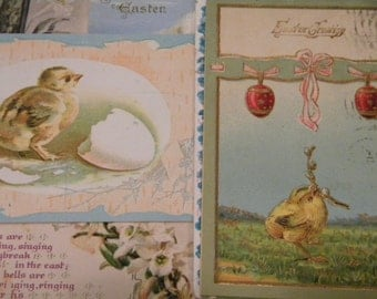 Antique Easter Postcards 1900s-1920 Random Group of (5)