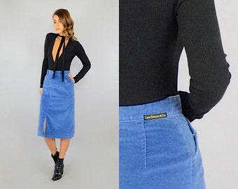 70's Levi's Corduroy Skirt