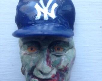 Zombie New York Yankees Magnet