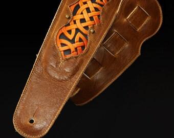 Celtic Honeywine Guitar Strap (IN STOCK)