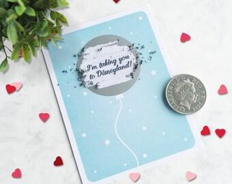 Secret Message Balloon Scratch Card