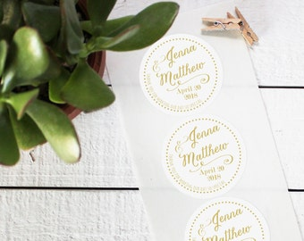 Wedding Favor Labels - Jenna Label Design | Bridal Shower Label | Personalized Label | Favor Box Label | Wedding Welcome Label- ANY OCCASION