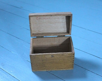 Grams Recipes....Wooden Recipes Box, Kitchen, Home Decor