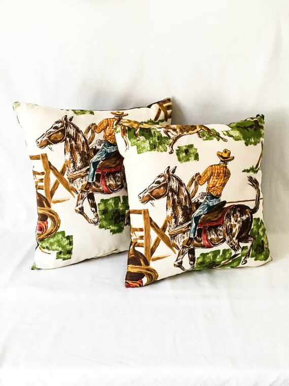 Vintage cowboy rodeo decor