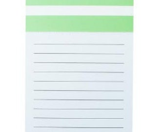 Personalized Magnetic Notepad - Lime