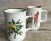 Set of Bird Mugs - Tea Cup