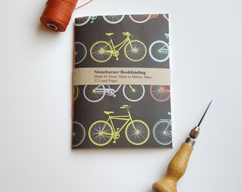 Bicycles Notebook - Bikes Journal - Pocket Notebook - Jotter - Diary