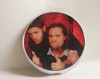 Sam &  Dean Winchester Supernatural Magnet