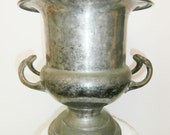 vintage silver plated champagne ice bucket