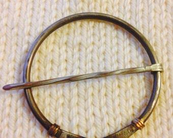 Penannular Brooch Kilt Pin