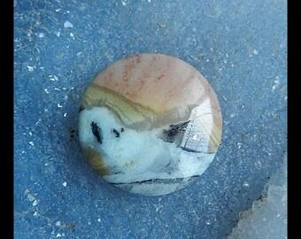 Amazonite Gemstone Round Cabochon,30x6mm,8.0g