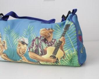 vintage 90s BEACH cigarette CAMEL brand bongo club camel HARD pack sling bag
