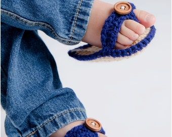 Custom Personalized Crocheted Baby Sandals-Flip Flop-Summer-Spring-Photo Pro-Photography