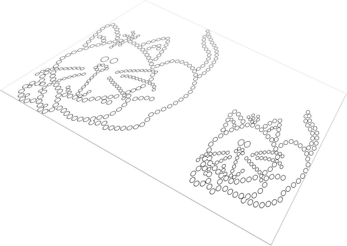 It's just a picture of Unusual Rhinestone Patterns Free Printable