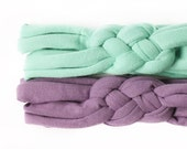 Pick 2 - Top Knot Set - Matching Sister Headbands - Pastel Baby Headband - Sister Headband Set - Mommy and Me Headwraps - Hospital Headband
