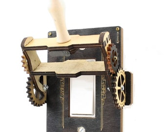 Rocker Throw Switch #8101E. A modern twist on a 1900 Switch