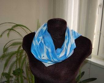 Amazing oriental asia Ikat pattern cotton scarf, Original Uzbek handcrafted handpainting  fabric