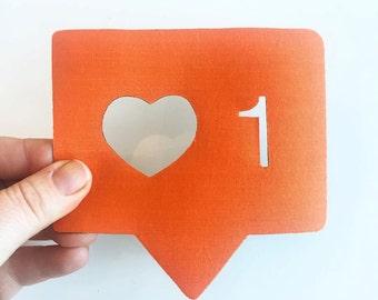 Insta-heart magnet