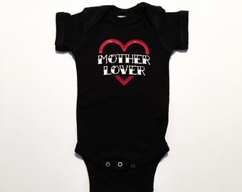 Mother Lover Bodysuit - One piece - Punk Baby Clothing - Tattoo - Mom - Mother's Day