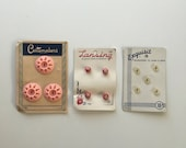 1930's-1940's button cards full button cards