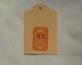 BE YOURSELF Gift Tag Set of 3