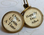 Once Upon A Time, Happily Ever After, OUAT Jewelry, Once Upon A Time Earrings, Wedding Jewelry