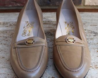 Vintage Salvatore Ferragamo Shoes Size 9.5 AA