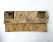 BOY SCOUTS - Reconstructed vintage boy scouts of canada pack large clutch