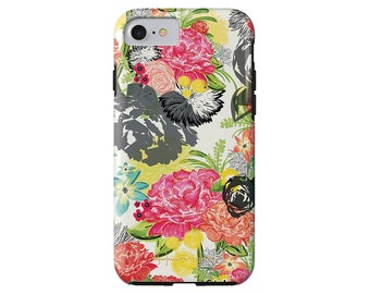 MICHELLA watercolor floral iPhone 7/7 Plus, iPhone 6/6s, iPhone 6/6s Plus, iPhone 5/5s case, Samsung Galaxy S6