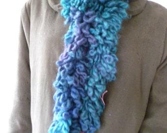 Ladies scarf long boa cosy fashion scarf