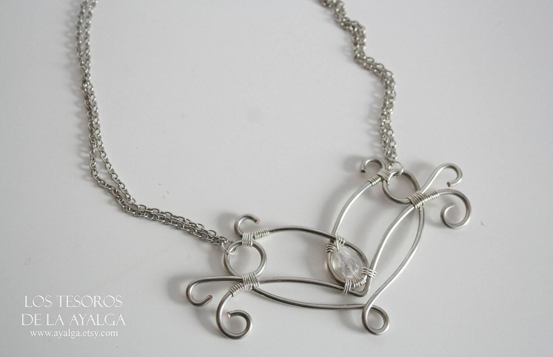elvish necklace elven pendant