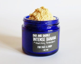 Banana Face Mask | Intensive Mask For Hair And Body