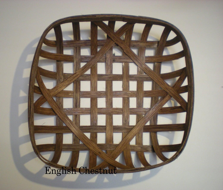 Handmade Baskets North Carolina : Reproduction nc style tobacco basket made